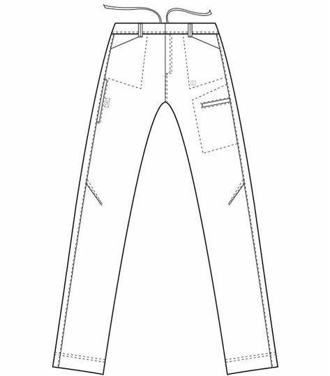 Landau Men's Ripstop Cargo Scrub Pants-2026