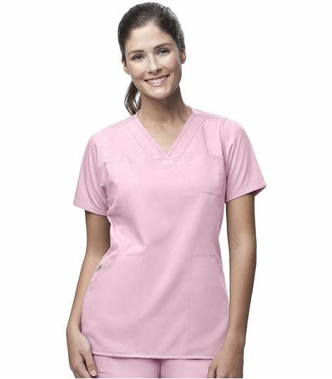 Carhartt Flex Women's Solid V-Neck Scrub Top-C11102