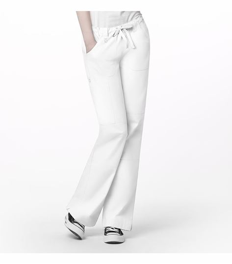 WonderWink Origins Women's Fashion Straight Leg Cargo Scrub Pants-5046