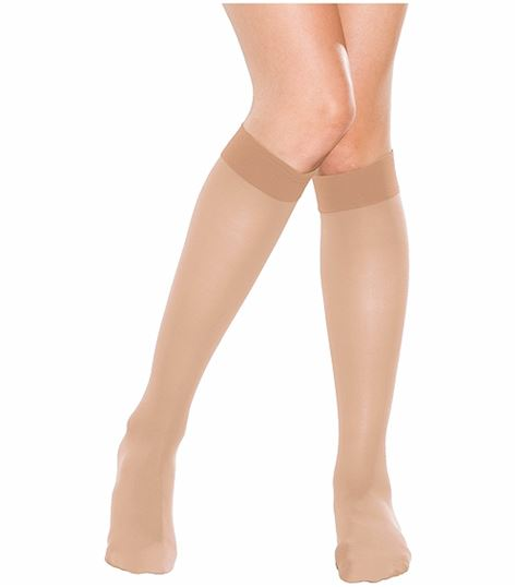 6f204e4e7f1 Cherokee Hosiery 10-15 Hg Knee High Stockings TF330