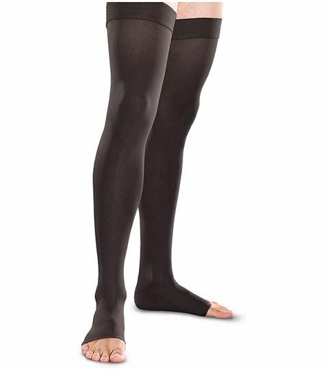 Cherokee Hosiery 20-30 Hg Open Toe Thigh Highs TF741