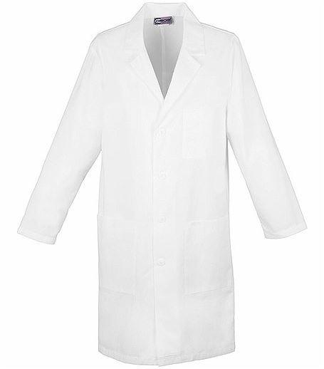 """Cherokee 40"""" Unisex White Lab Coat-1346"""