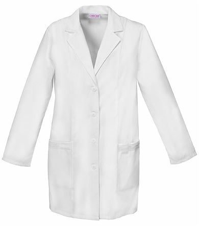 "Cherokee Fashion Women's 33"" White Lab Coat-2351"