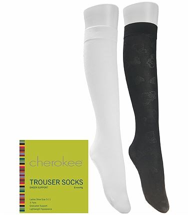 Cherokee Hosiery 6-3 Pair Packs Of Support Trouser Socks TROUSERSOCK