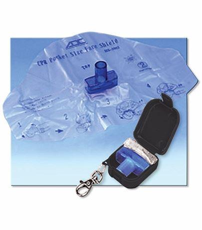 Accessories Adsafe Face Shield Plus W/keychain AD4056Q