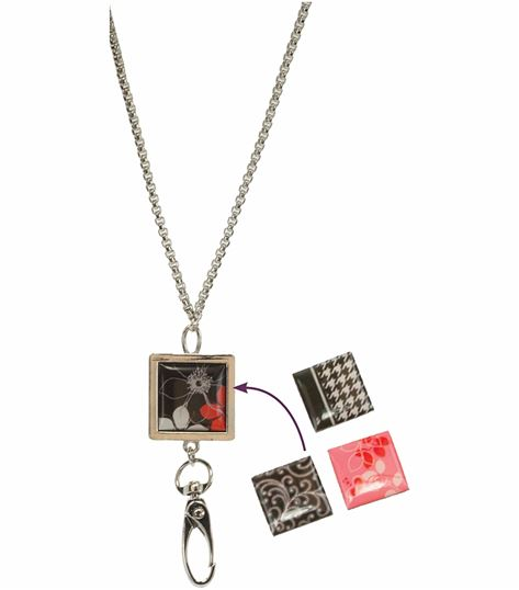 Accessories Magnetic Tile Id Necklace BJSWAPABLE