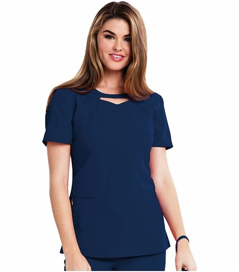 "Careisma ""audrey"" Round Neck Top CA602"