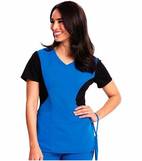 Careisma Women's V-neck Scrub Top-CA605
