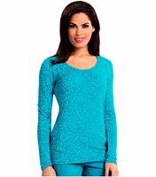 Careisma Women's Underscrub Long Sleeve Knit Tee-CA608X13