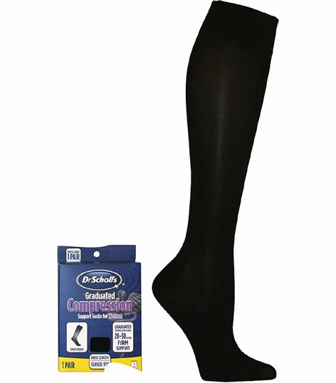 Cherokee Hosiery 20-30 Hg Sheer Compression Sock DSL7110