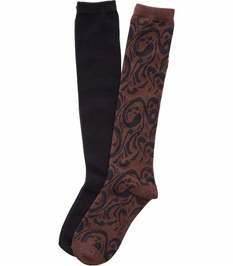 Cherokee Hosiery 2 Pack of Knee High Socks LETSSWIRL