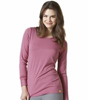 WonderWink Layers Women's Long Sleeve Striped Underscrub Tee-2079