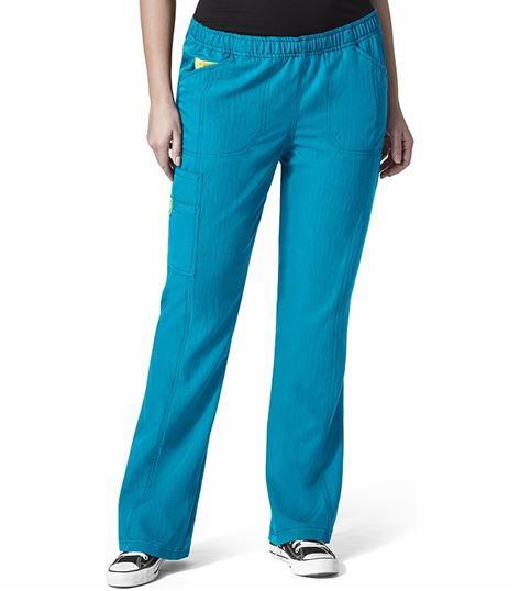 WonderWink PLUS Women's Boot Cut Cargo Scrub Pants-5105