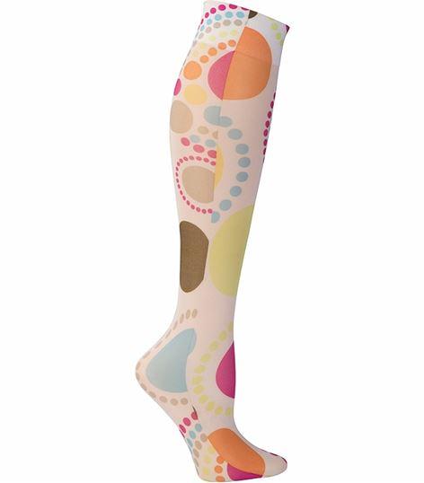Cherokee Hosiery Women's Printed Compression Knee Highs