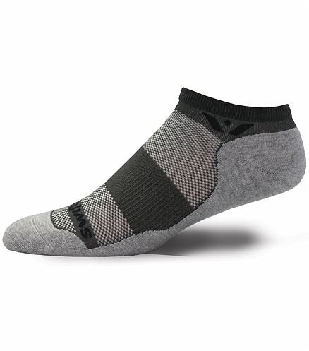 Swiftswick Unisex No Show Antimicrobial Sock-MAXUSZERO