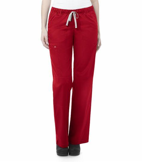 Wonderwink Wonderwork Women's Elastic Cargo Scrub Pants-504