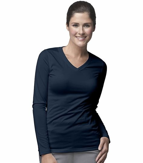 Carhartt Women's Long Sleeve V-Neck Underscrub Knit Tee-C31109