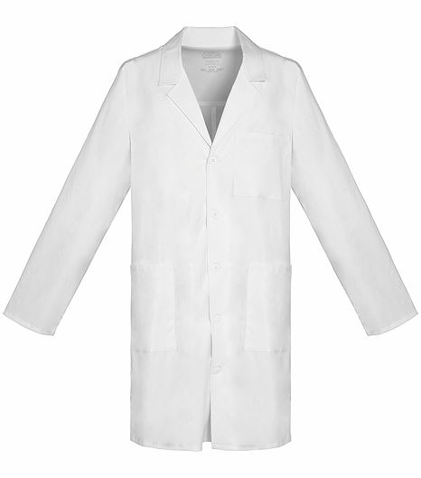 "Cherokee WorkWear Premium Unisex 38"" White Lab Coat-4403"