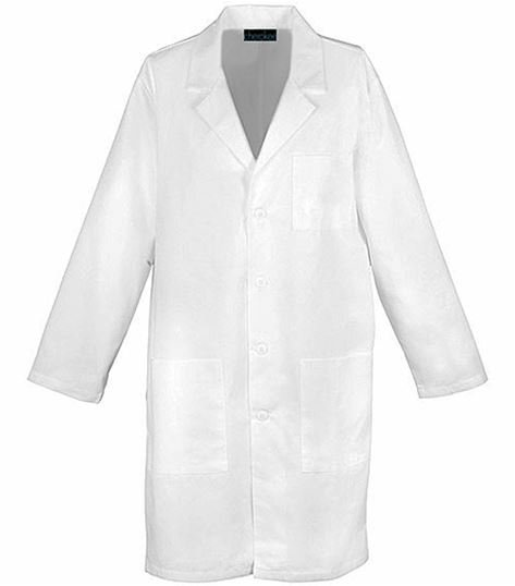 "Dickies Professional Whites 40"" Unisex Lab Coat 1446"
