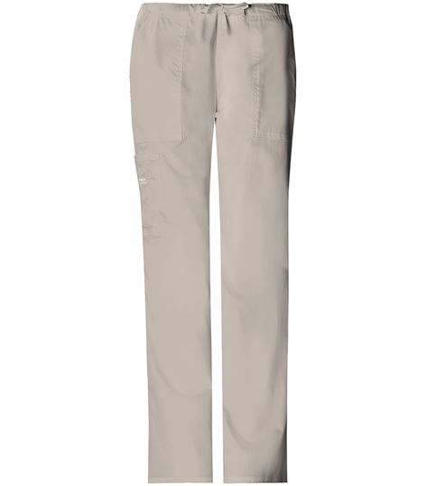 Cherokee WorkWear Core Stretch Women's Drawstring Scrub Pants-4044