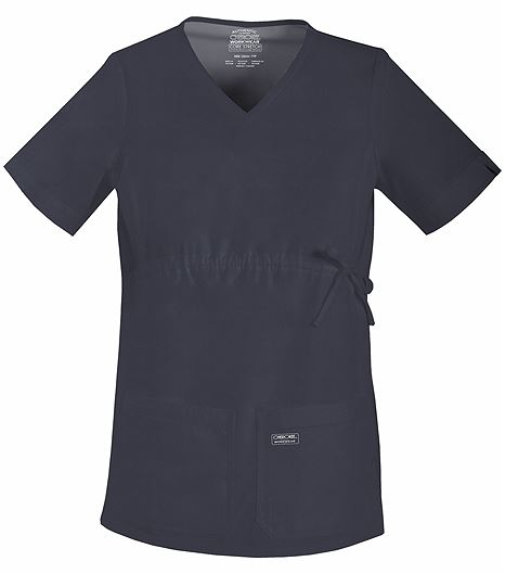 Cherokee WorkWear Core Stretch Maternity V-Neck Scrub Top-4708