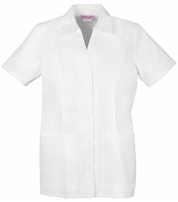 Dickies Professional Whites Button Front Top 2879