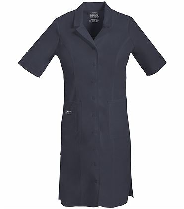 Cherokee WorkWear Core Stretch Button Front Nurse Uniform Dress-4508