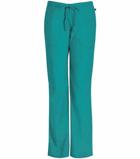 Code Happy Women's Flare Leg Drawstring Scrub Pants-46002A