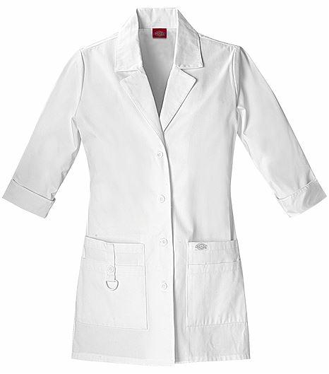 """Dickies Everyday Scrubs 30"""" Lab Coat 82402"""