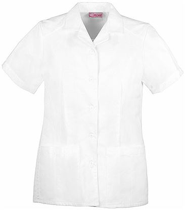 Dickies Professional Whites Button Front Top 2880