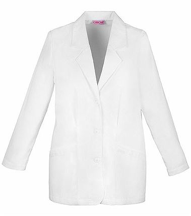 "Cherokee Women's 30"" White Lab Coat-348"