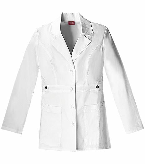"Dickies GenFlex Women's 28"" ""Youtility"" Lab Coat-82408"