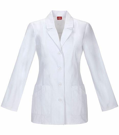"""Dickies Everyday Scrubs 29"""" Lab Coat 84405"""