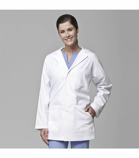 Carhartt Unisex White Poplin 5 Pocket Student Lab Coat-C70006