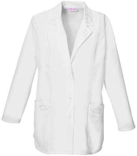 "Cherokee Fashion Women's 30"" White Lab Coat-2350"