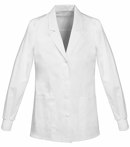"Cherokee WorkWear Core Stretch Women's 30"" White Lab Coat-4416"