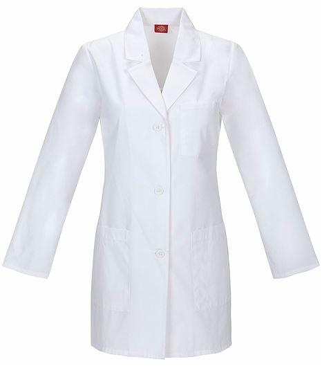"""Dickies Everyday Scrubs 32"""" Lab Coat 84400"""