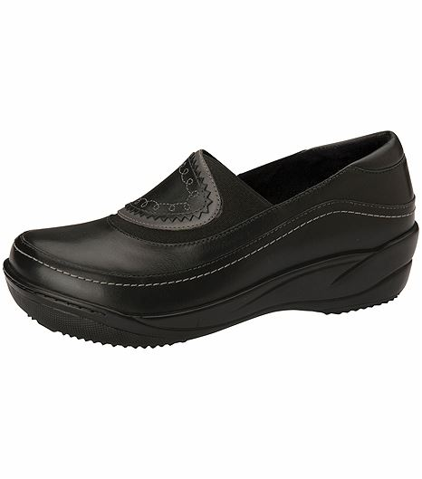 Anywear by Cherokee Women's Slip On Nursing Shoe-MARLENE