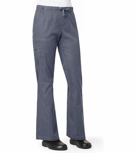 Carhartt Women's Ripstop Flare Leg Cargo Scrub Pants-C57108