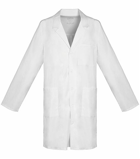 "Cherokee WorkWear Core Stretch Unisex 38"" White Lab Coat-4403"