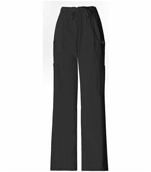 Dickies GenFlex Men's Elastic Waist Drawstring Cargo Scrub Pants-81003
