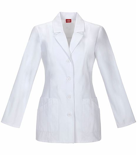 "Dickies Everyday Scrubs 29"" Lab Coat 84405"
