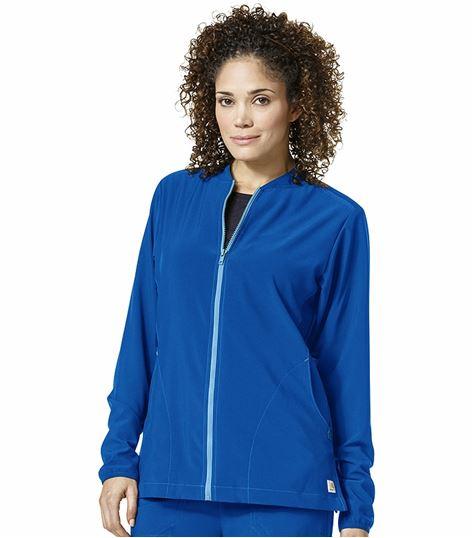 Carhartt Crossflex Women's Zip Up Warm-Up Scrub Jacket-C82310