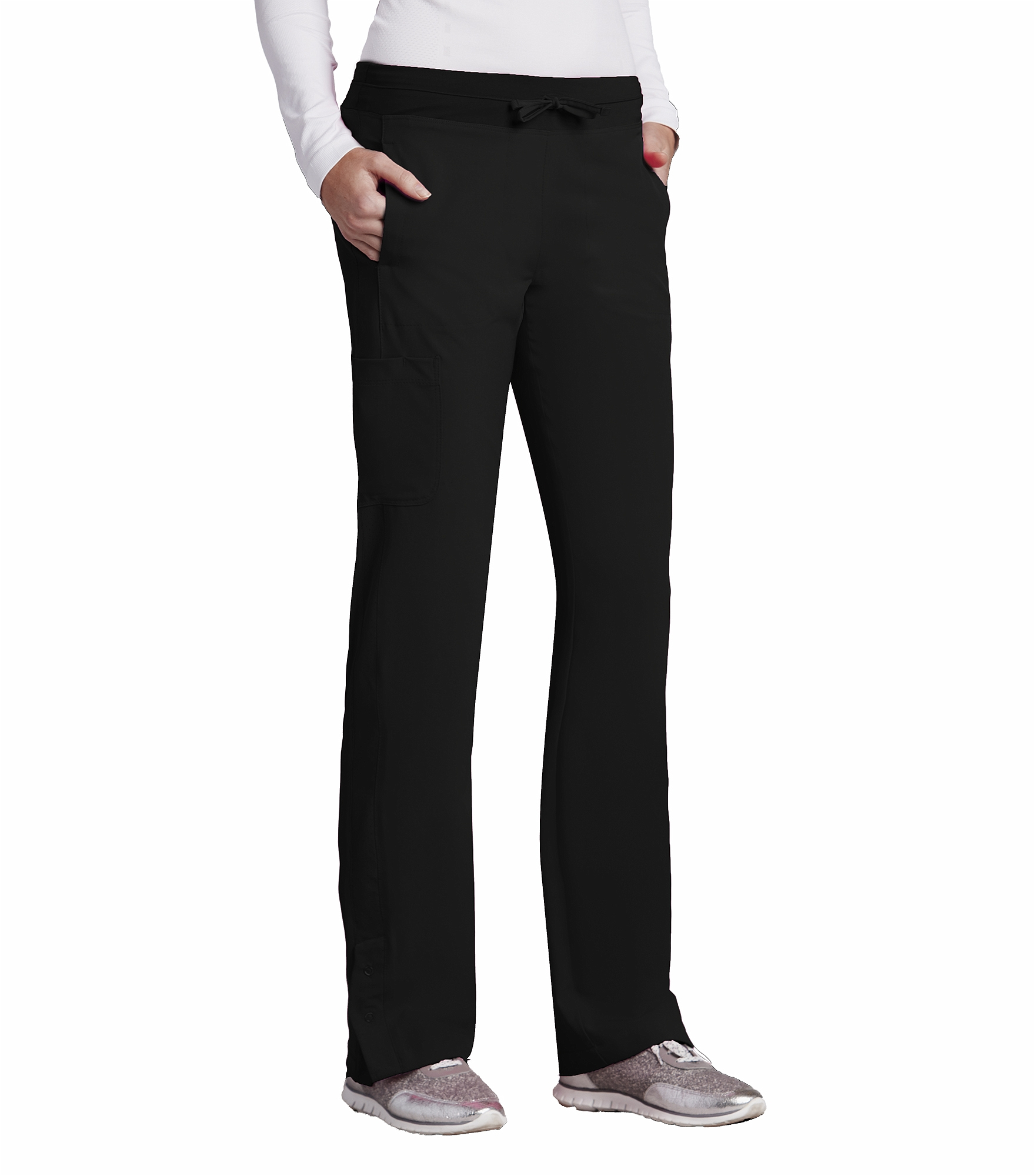 49124322f67 Barco One Women's 4 Pocket Straight Leg Drawstring Scrub Pants-5205 |  Medical Scrubs Collection