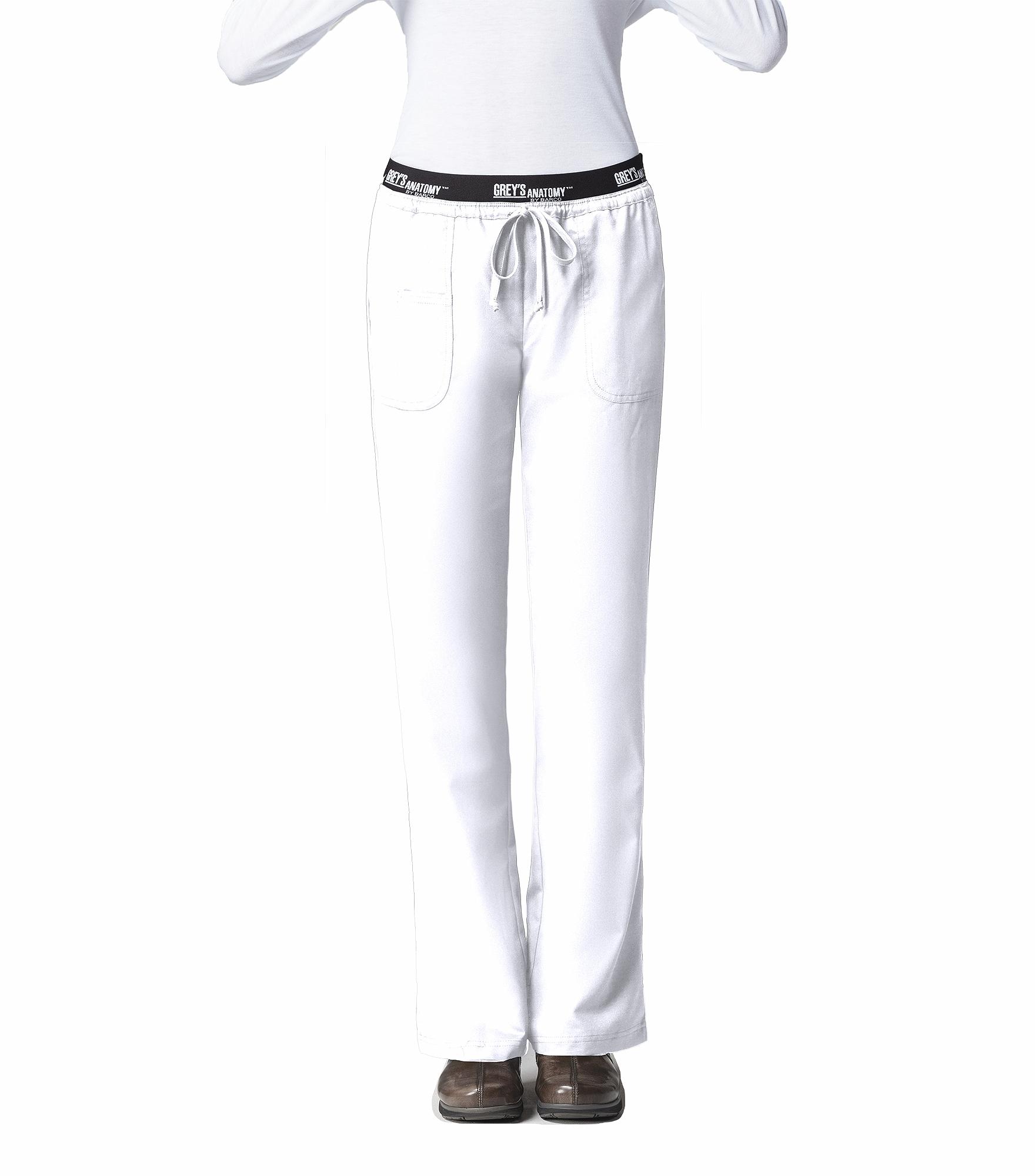 Grey\'s Anatomy Active Women\'s Logo Waist Drawstring Scrub Pants-4275 ...