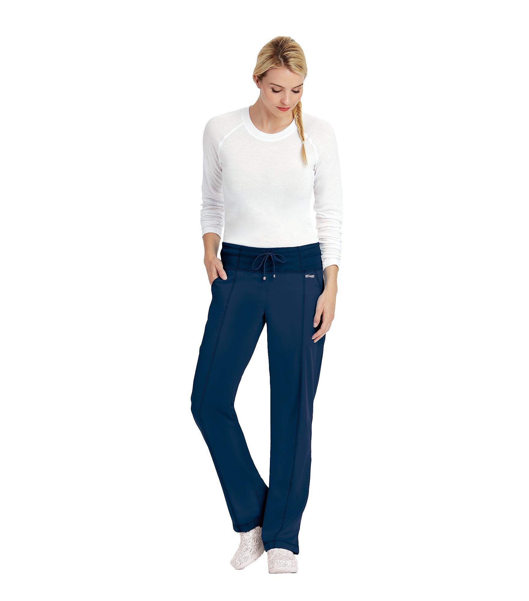 Barco Grey\'s Anatomy Active Women\'s Yoga Knit Scrub Pants-4276 ...