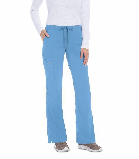 KD110 Women's Elastic Back Cargo Scrub Pants-8203