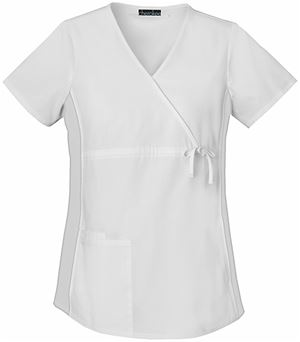 Cherokee Flexibles Maternity Mock Wrap Knit Panel Top 2892