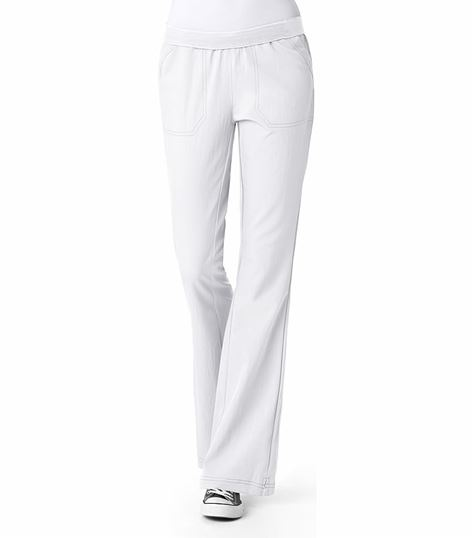 WonderWink Four-Stretch Women's Flip Flare Leg Scrub Pants-5314