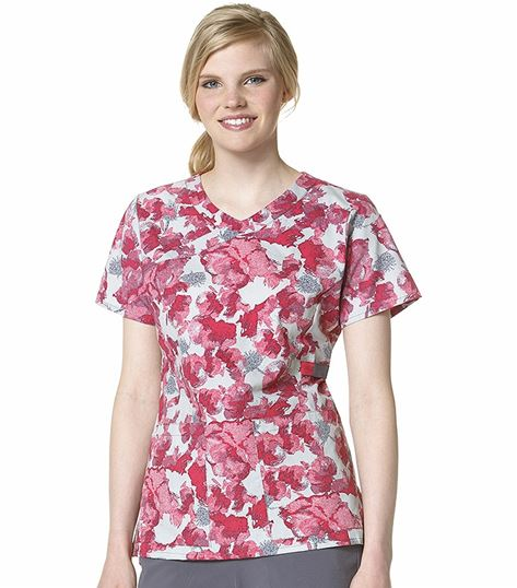 Carhartt Printed Y-neck Fashion Top C12207